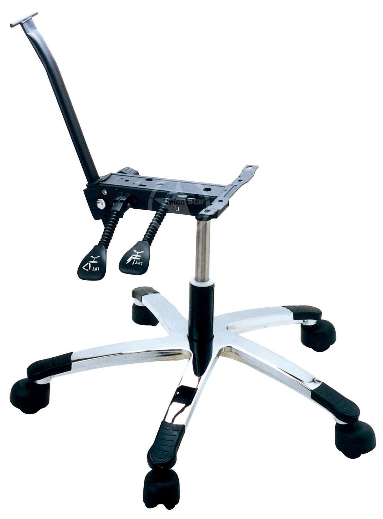 如何调节合适的办公椅高度